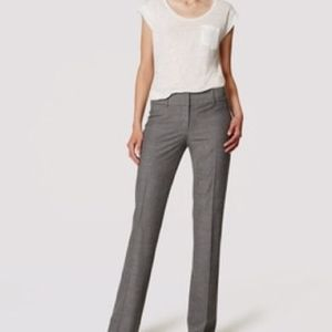 LOFT JULIE BOOTCUT DRESS PANT